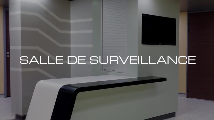 Salle de surveillance du centre ALYATEC