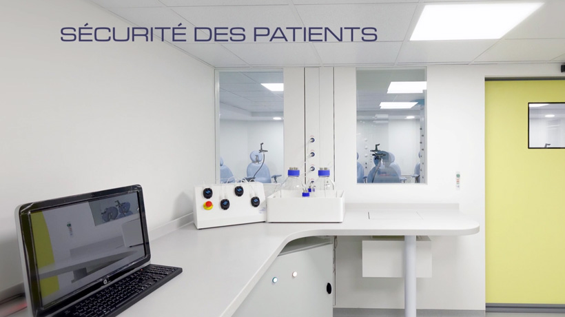 Sécurité des patients au centre ALYATEC