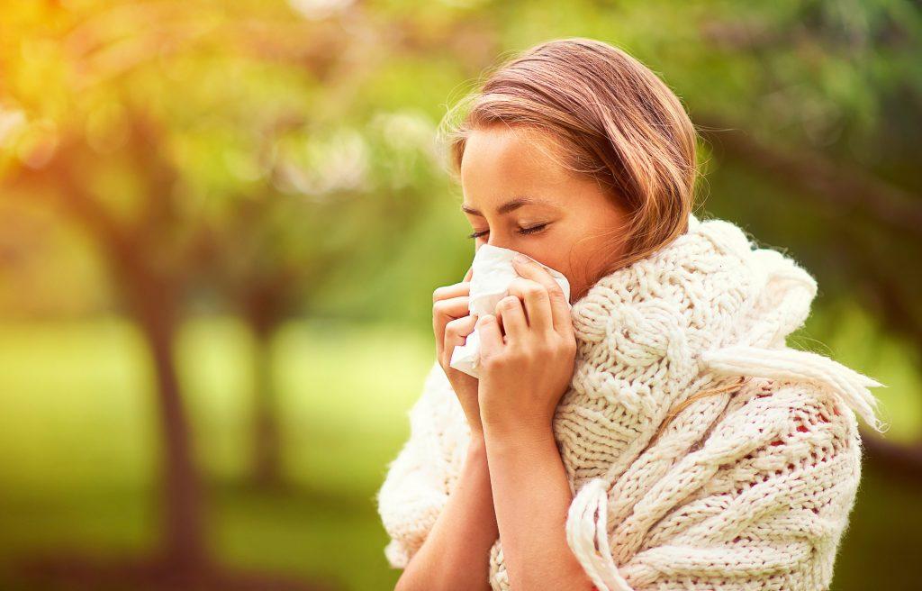 Rhinite pollen allergie