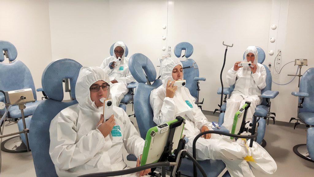 Alyatec allergen environmental exposure chamber unit clinical trials studies allergy asthma rhinitis conjunctivitis volontaire alsace Bas-rhin Strasbourg France